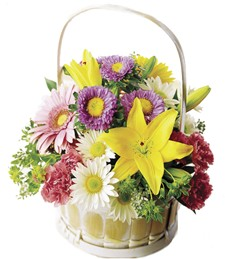 Medley of Beauties Basket